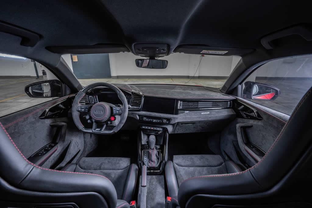 400 PS ABT Audi A1 Kokpiti