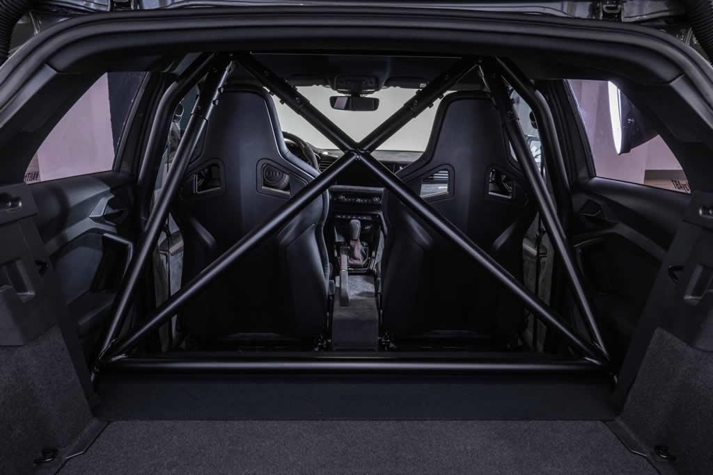 400 PS ABT Audi A1 İçi