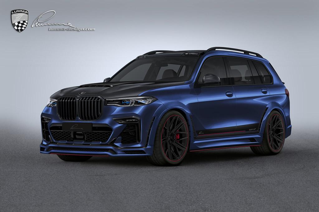 Lumma Design BMW X7 Modifiye