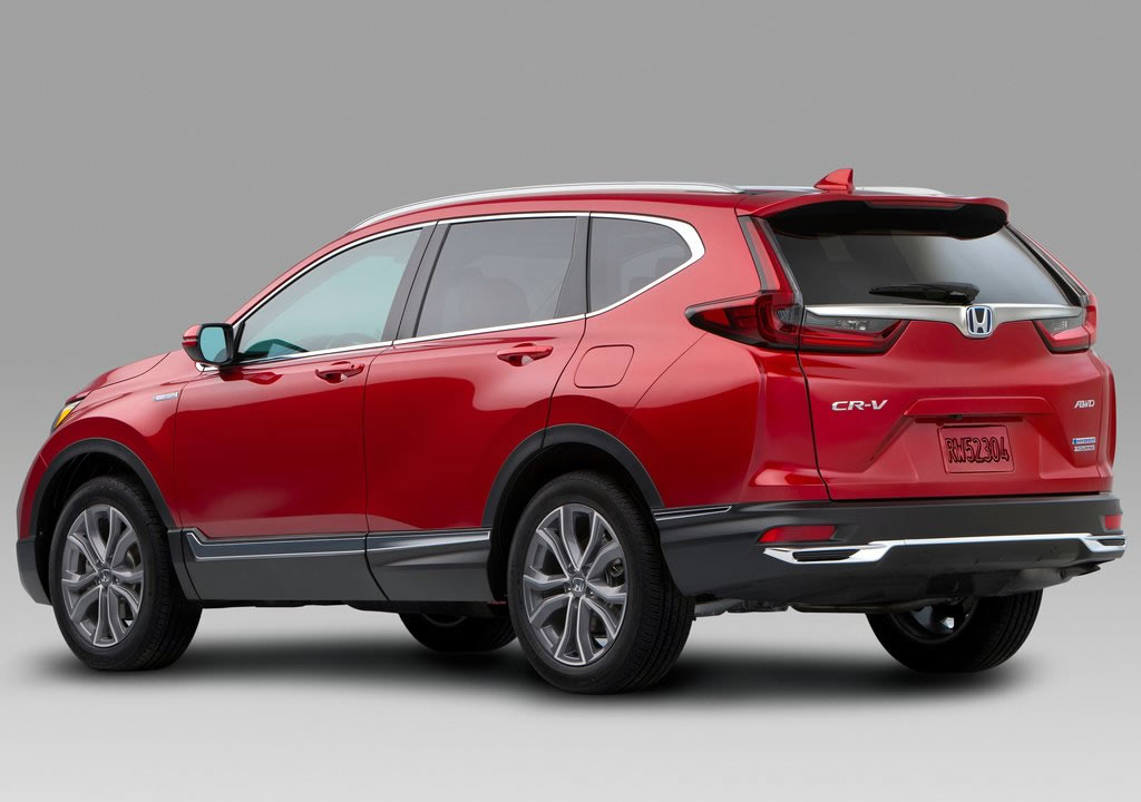 Makyajlı 2020 Honda CR-V Fotoğrafları