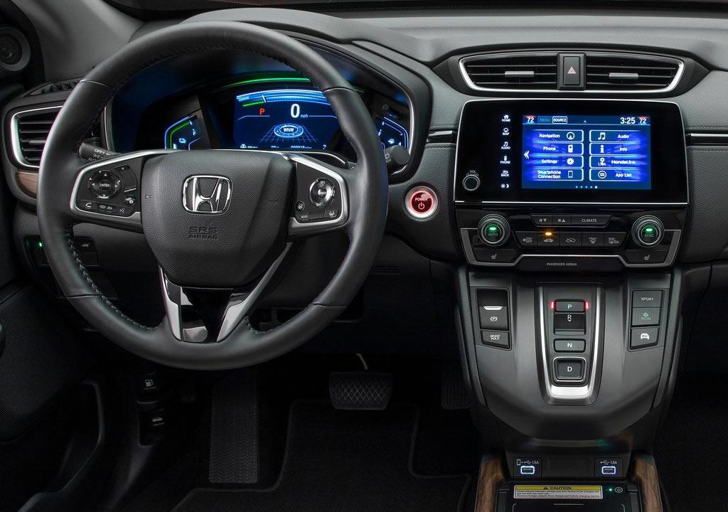 Makyajlı 2020 Honda CR-V Kokpiti
