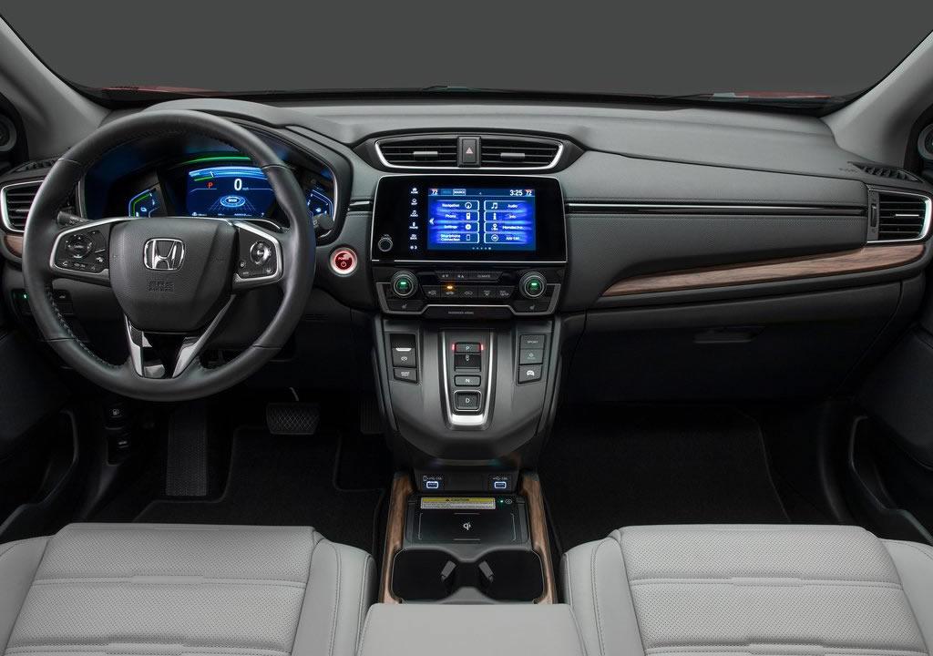 Makyajlı 2020 Honda CR-V İçi