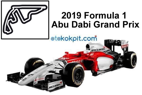 2019 Formula 1 Abu Dabi Grand Prix Saat Kaçta?