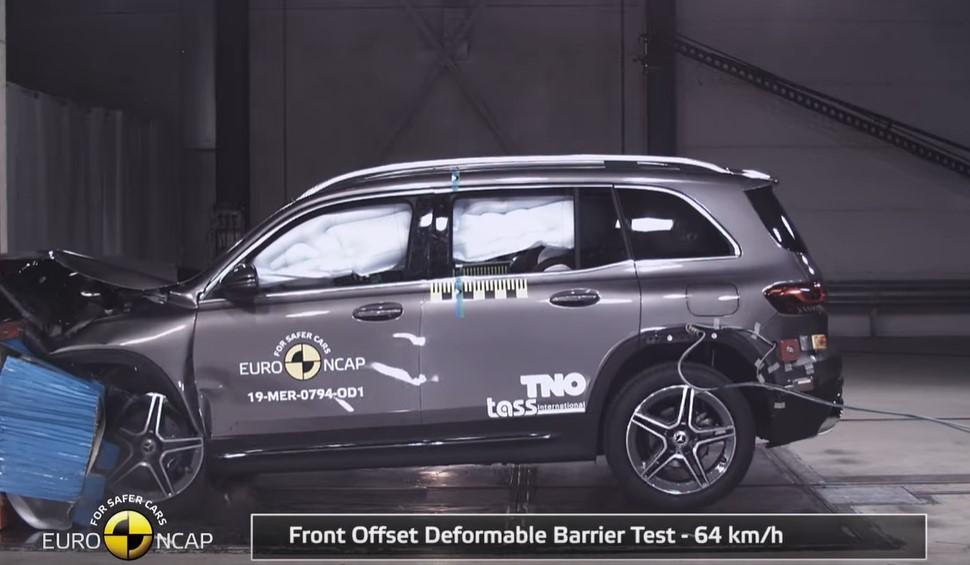 Mercedes-Benz GLB Euro NCAP