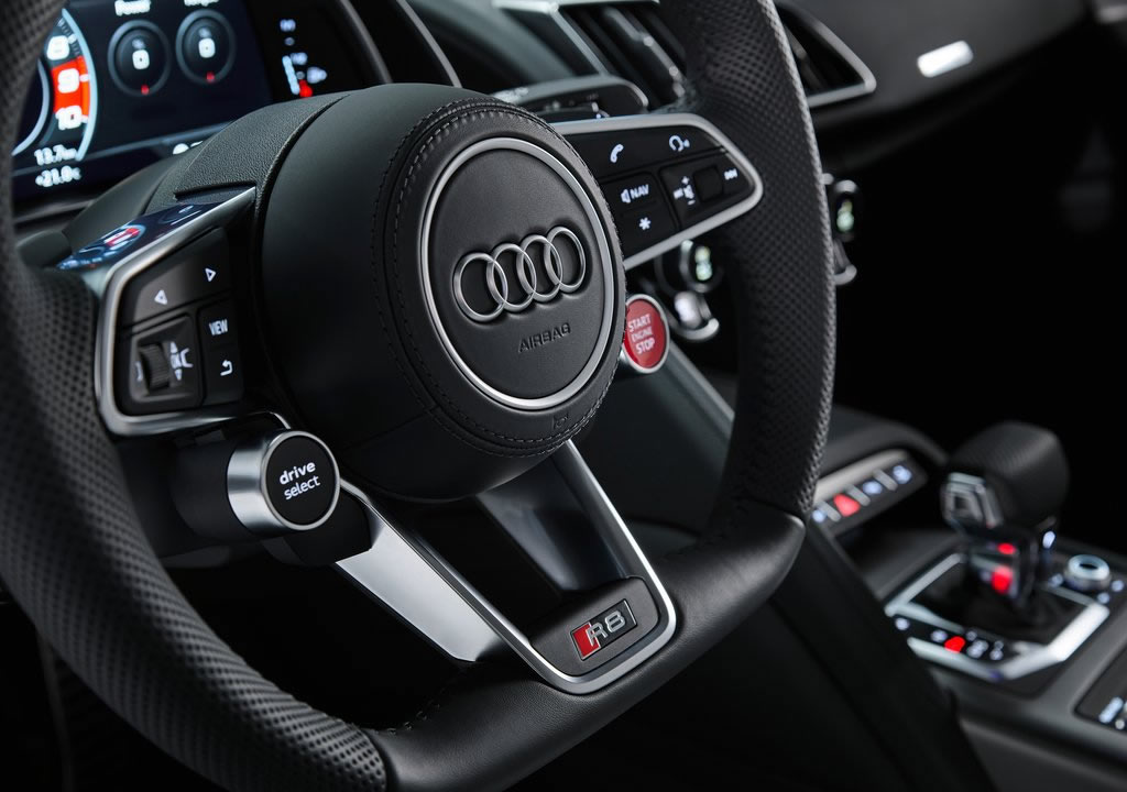 2020 Audi R8 V10 RWD İçi