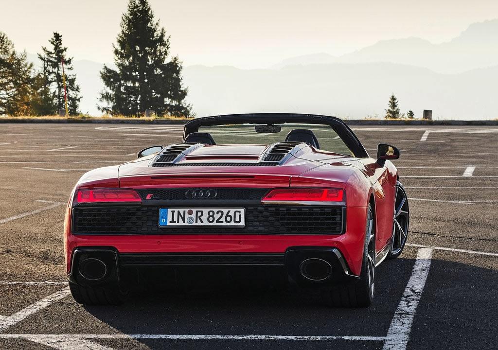 2020 Audi R8 V10 RWD Spyder Donanımları