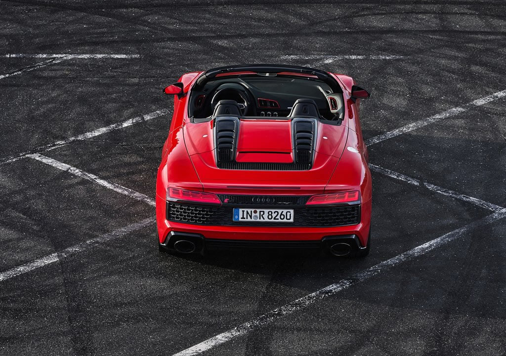 2020 Audi R8 V10 RWD Spyder Fotoğrafları