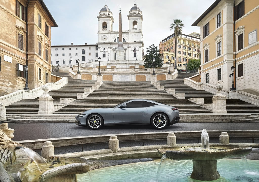 Ferrari Roma Kaç Beygir?