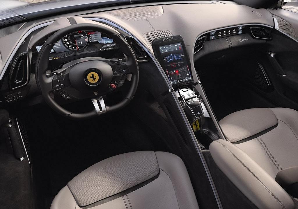 Ferrari Roma Kokpiti