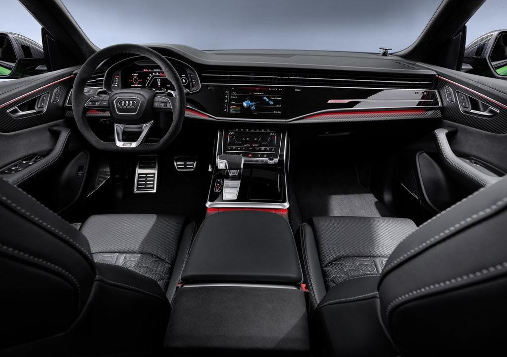 2020 Yeni Audi RS Q8 Kokpiti
