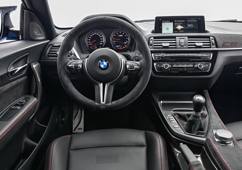 2020 Yeni BMW M2 CS Kokpiti