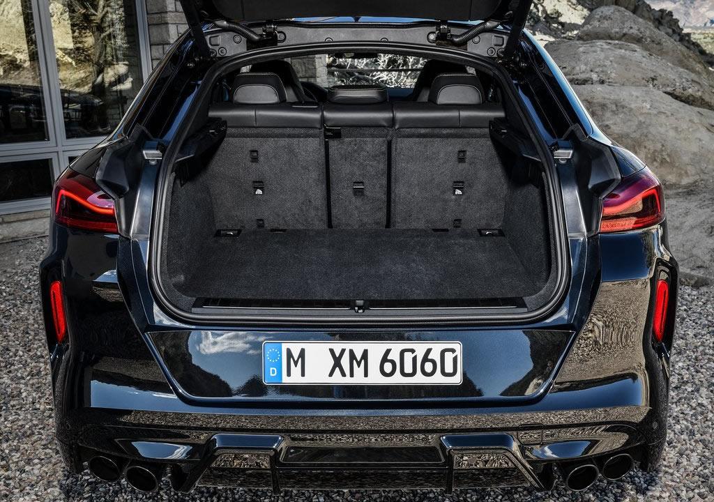 Yeni BMW X6 M Competition Bagaj Alanı