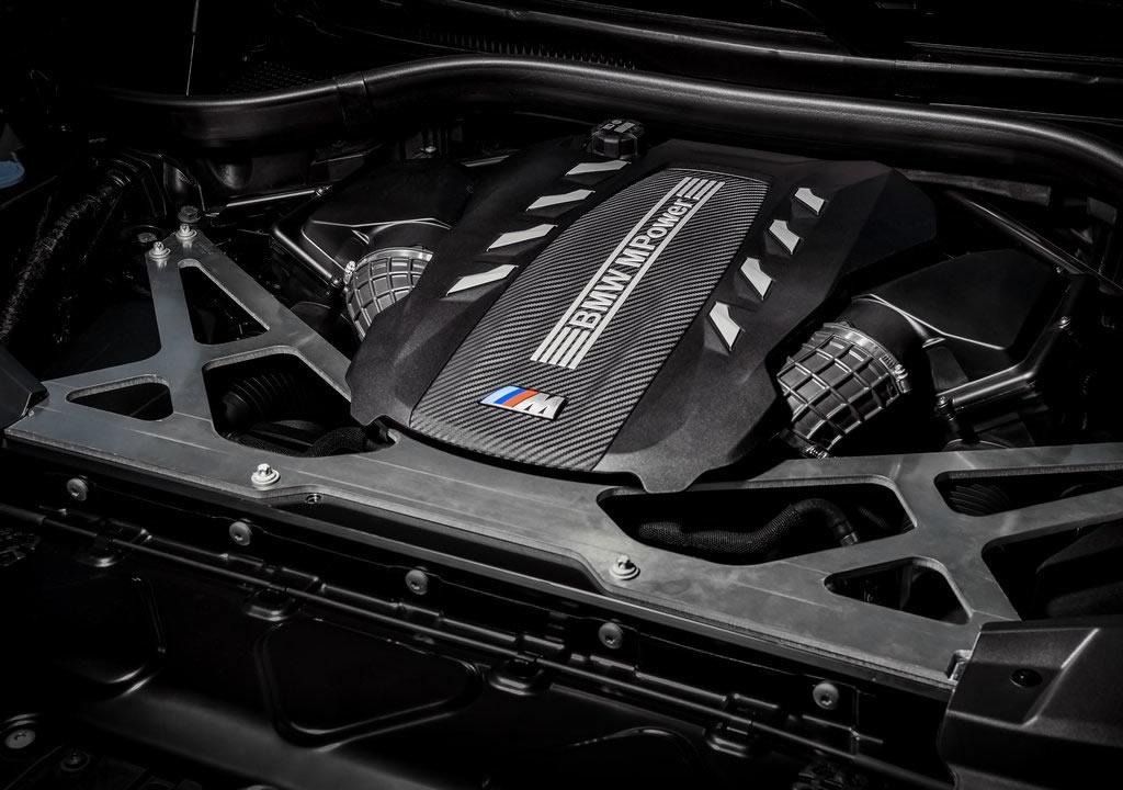 Yeni BMW X6 M Competition Motoru