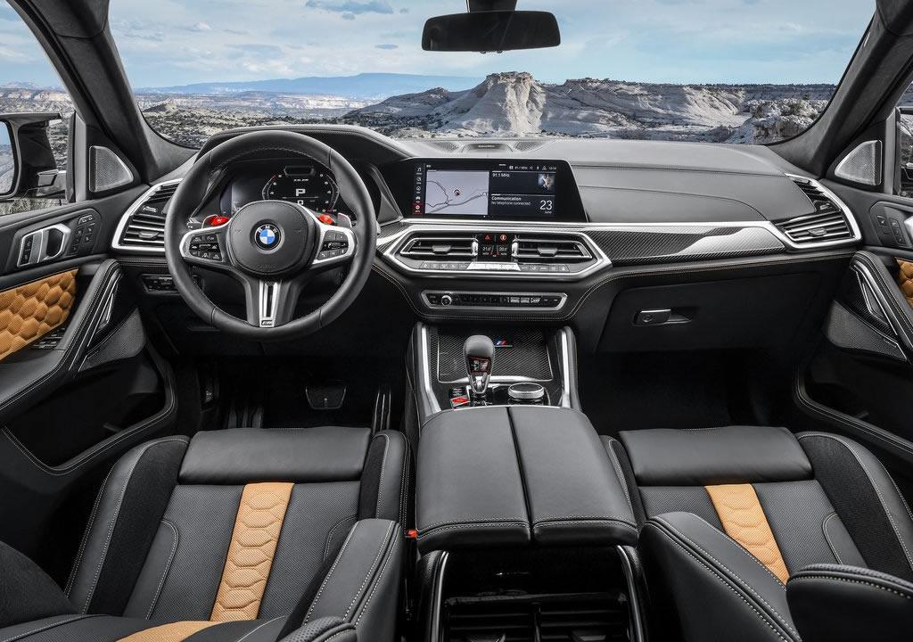 2020 Yeni BMW X6 M Competition Kokpiti
