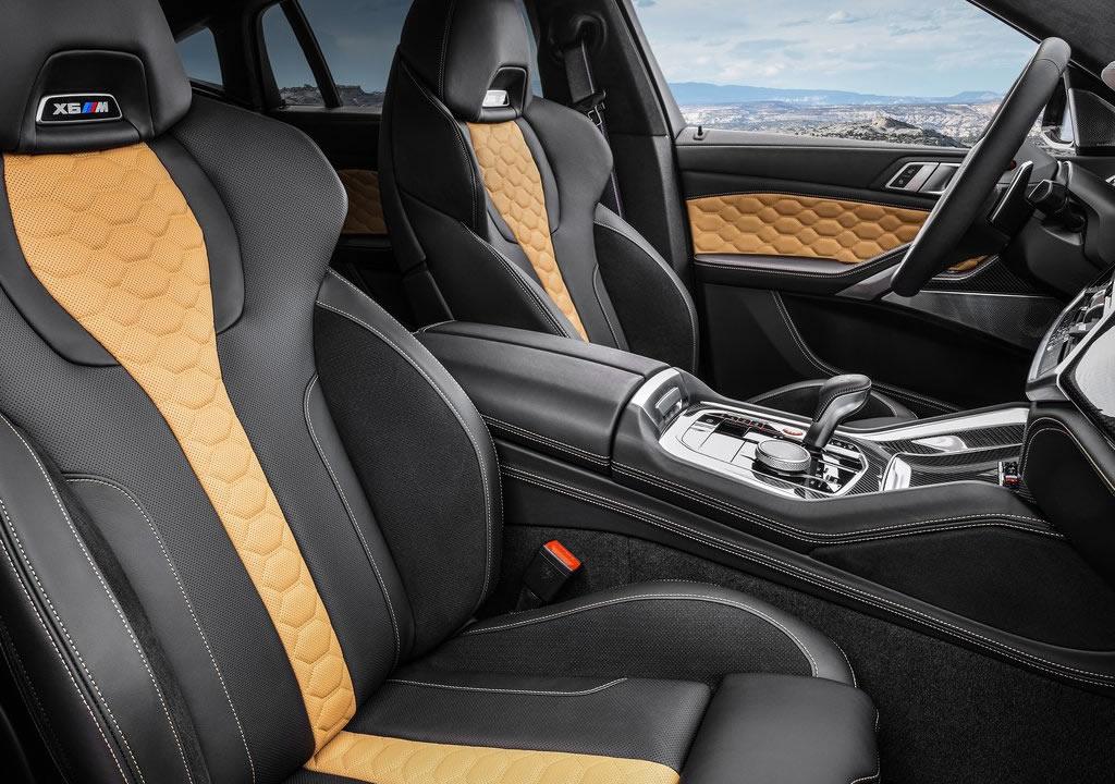 2020 Yeni BMW X6 M Competition İçi