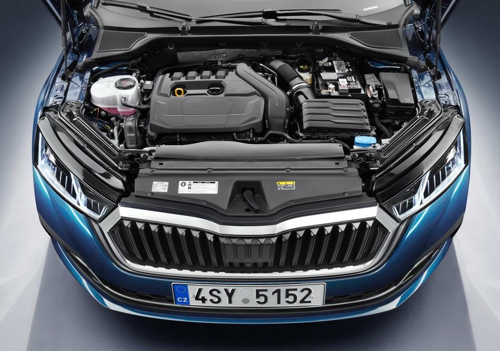 2020 Yeni Kasa Skoda Octavia Motoru
