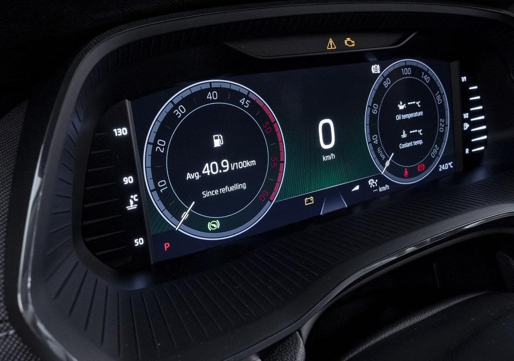 2020 Yeni Kasa Skoda Octavia Gösterge Ekranı