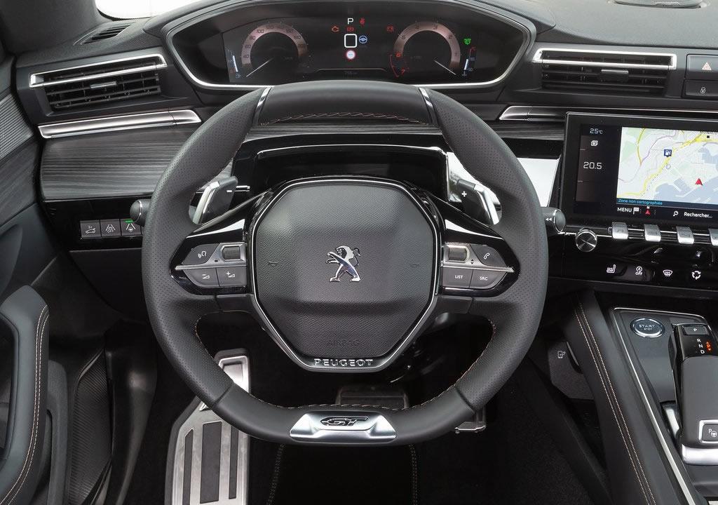 2020 Yeni Peugeot 508 İçi