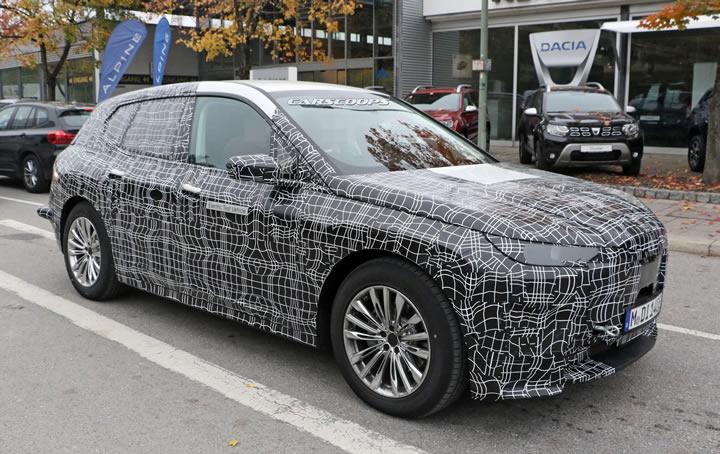Elektrikli 2021 BMW iX5