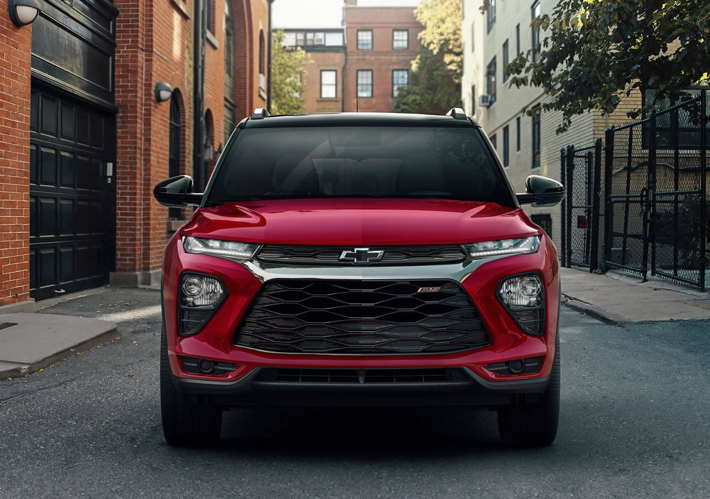 Yeni Chevrolet Trailblazer Fotoğrafları