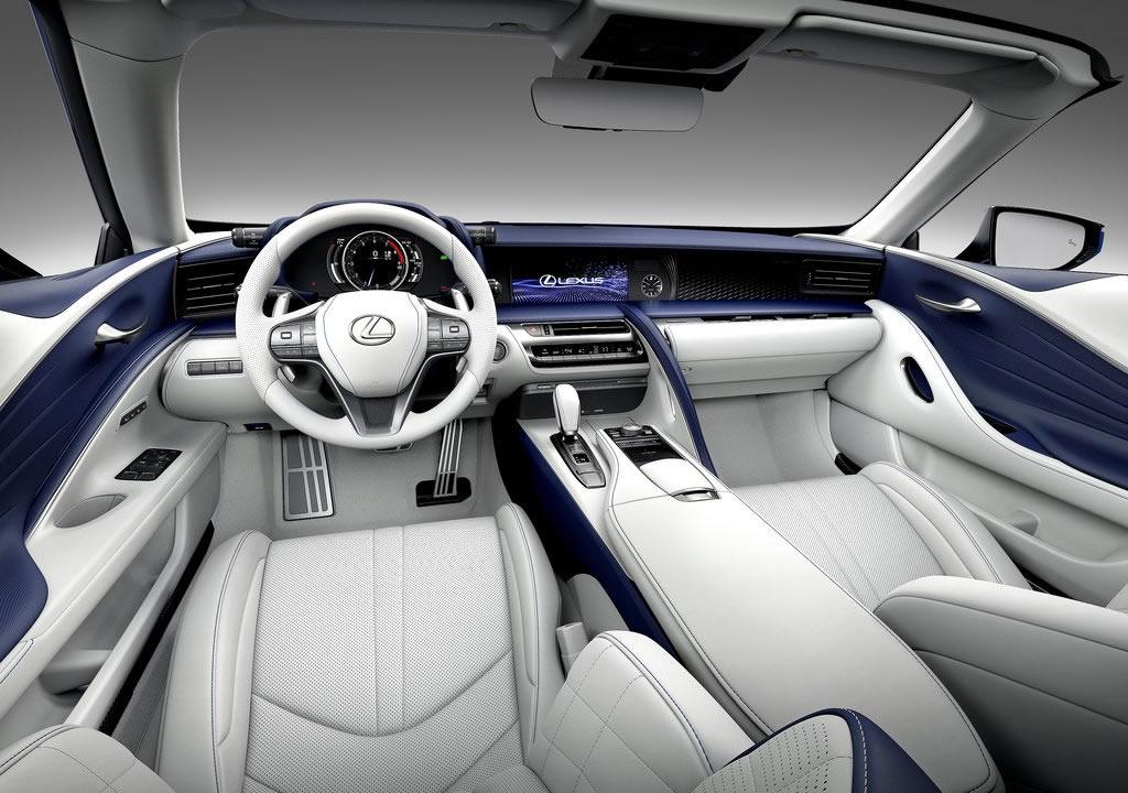 2021 Lexus LC 500 Convertible İçi