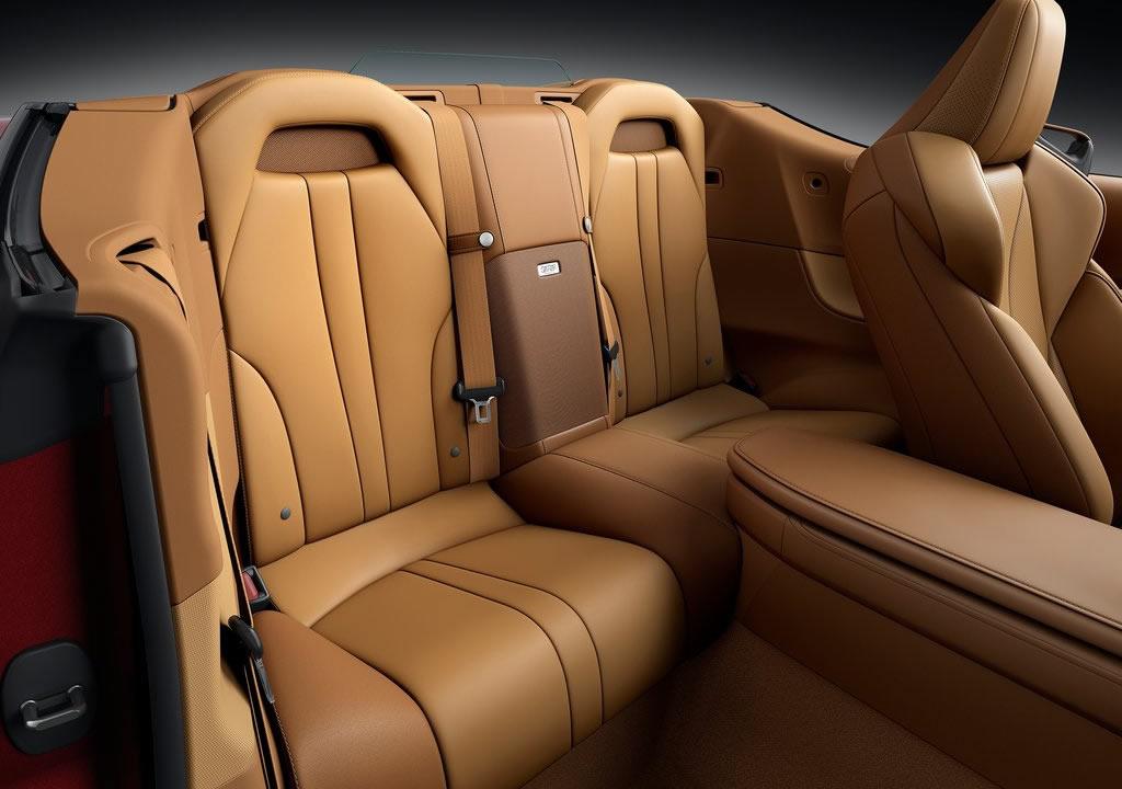 2021 Lexus LC 500 Convertible Arkası