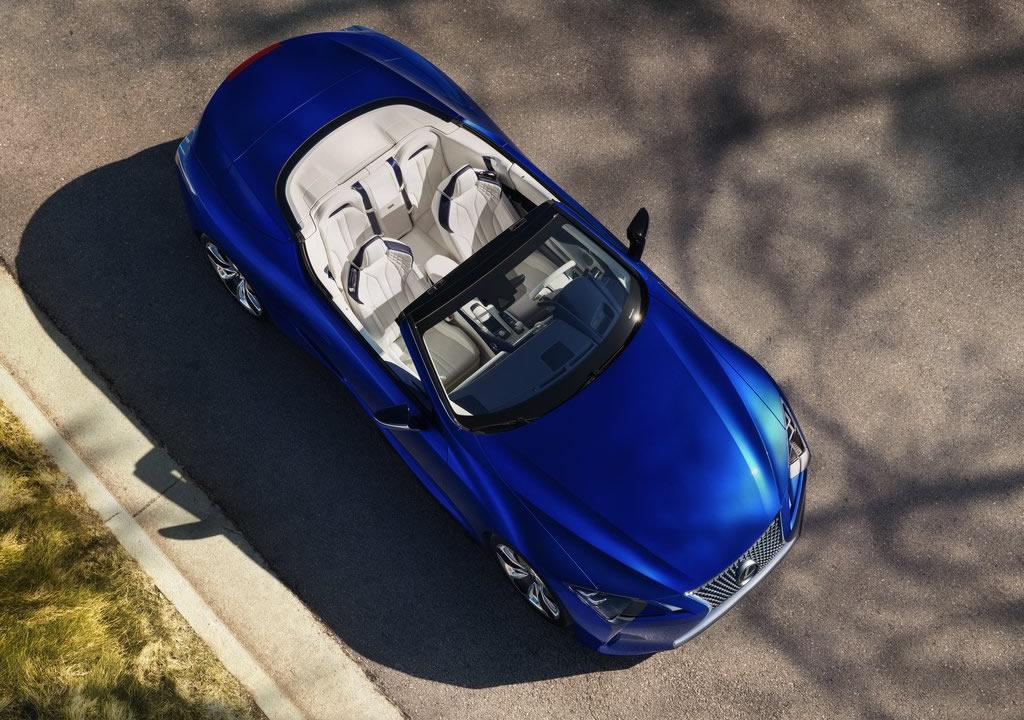 2021 Lexus LC 500 Convertible Teknik Özellikleri