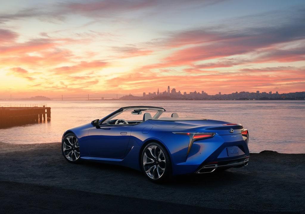 2021 Lexus LC 500 Convertible Donanımları