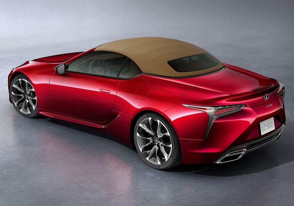 2021 Lexus LC 500 Convertible Ne Zaman Çıkacak?