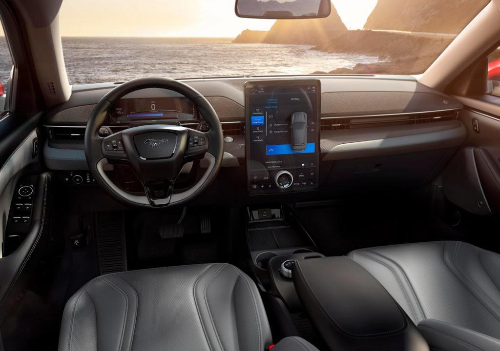 2021 Ford Mustang Mach-E Kokpiti