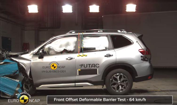 2019 Subaru Forester Euro NCAP