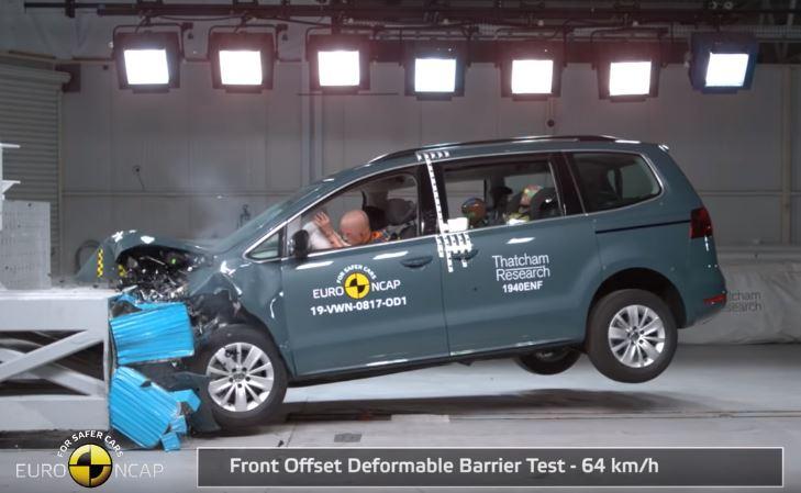 2019 Volkswagen Sharan Euro NCAP
