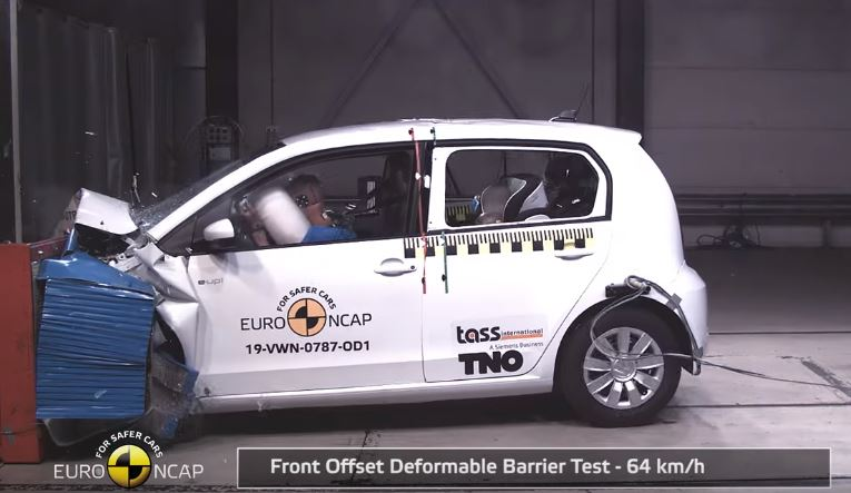 2019 VW up! Euro NCAP