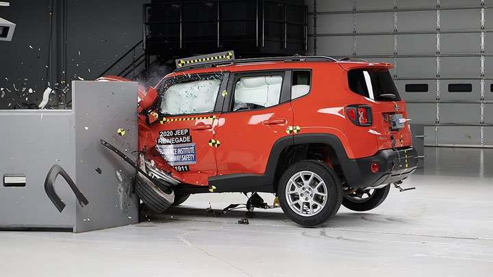 2020 Jeep Renegade TOP SAFETY PICK