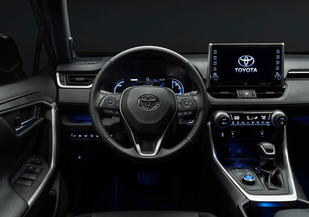 2020 Toyota RAV4 Prime Kokpiti