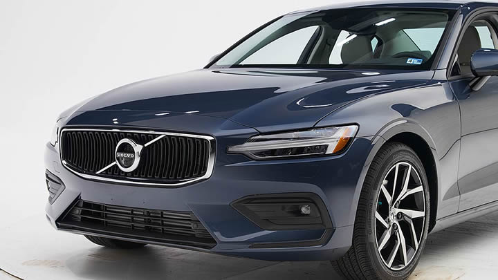 2020 Volvo S60 TOP SAFETY PICK+