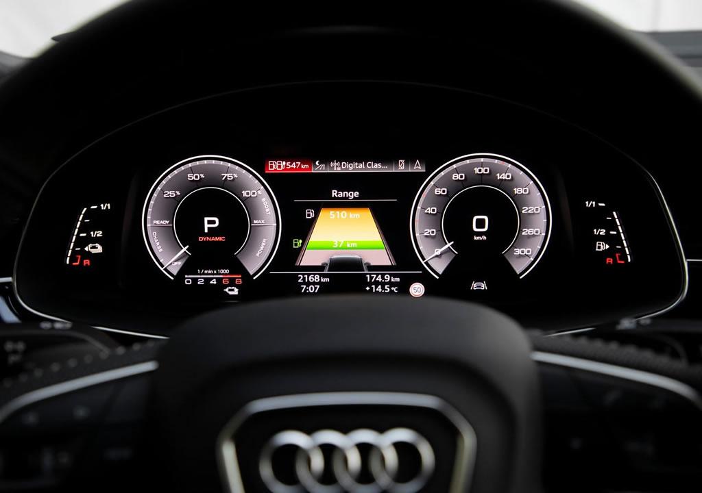 2020 Yeni Audi Q7 TFSI e quattro İçi