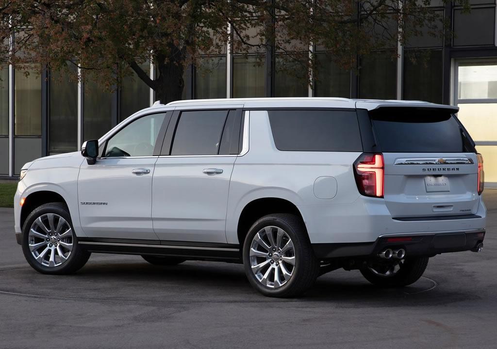 2021 Yeni Chevrolet Suburban