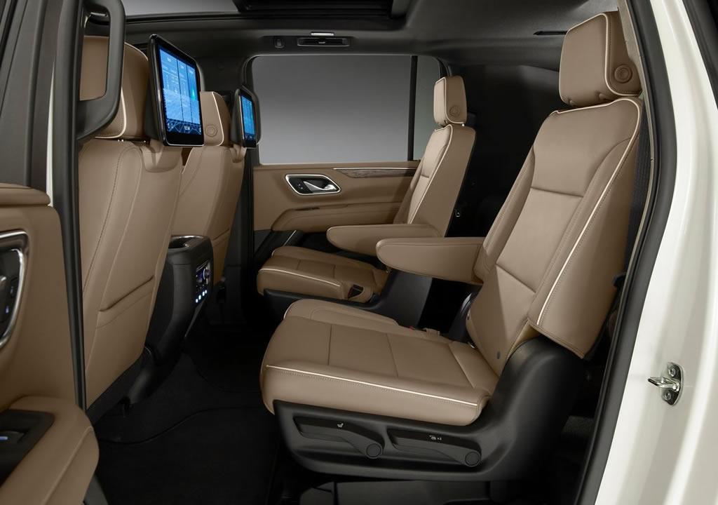 2021 Yeni Chevrolet Suburban İçi