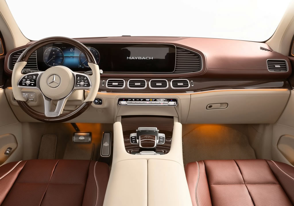 2021 Mercedes-Maybach GLS 600 Kokpiti