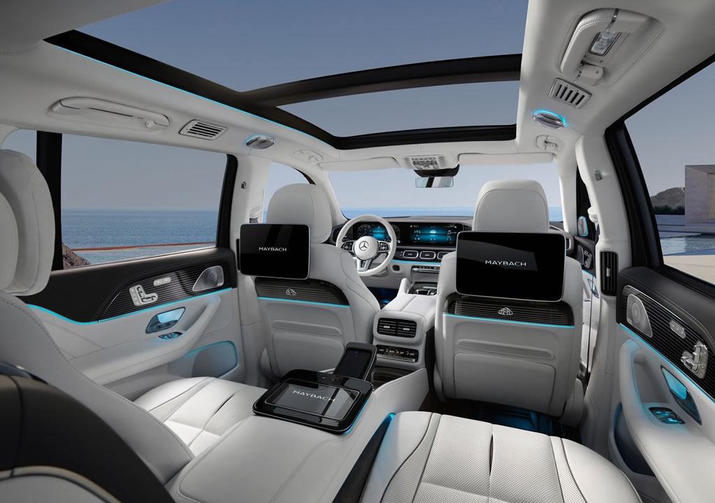 2021 Mercedes-Maybach GLS 600 Donanımları