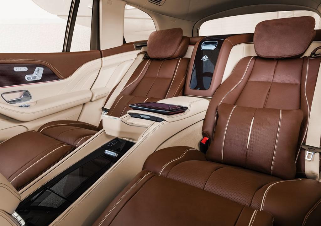 2021 Mercedes-Maybach GLS 600 İçi