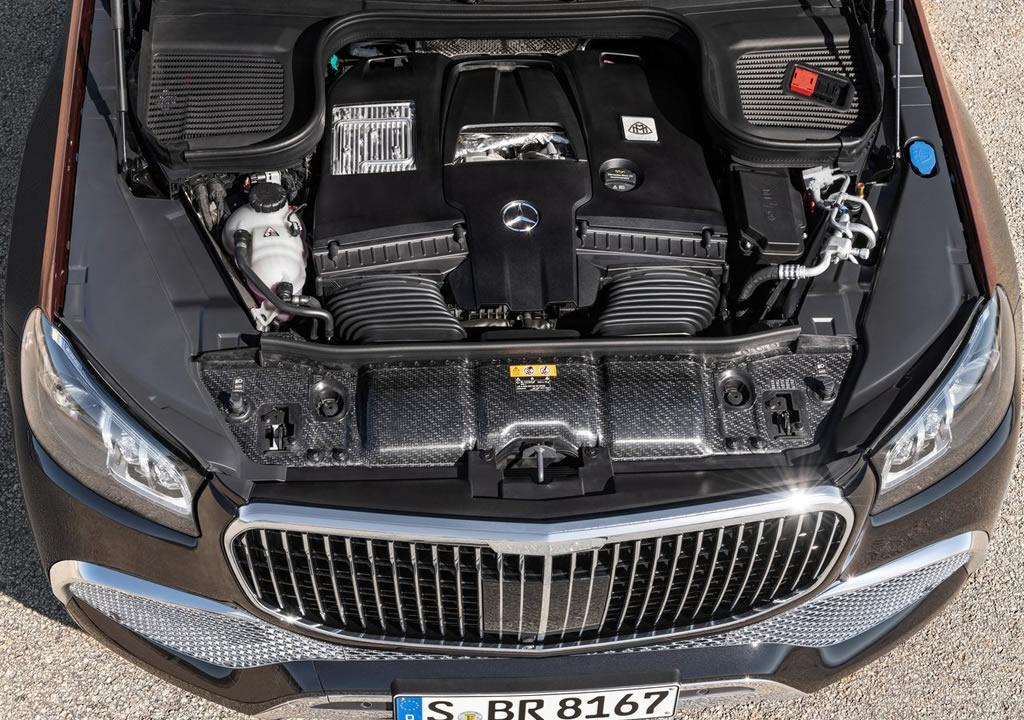 2021 Mercedes-Maybach GLS 600 Motoru