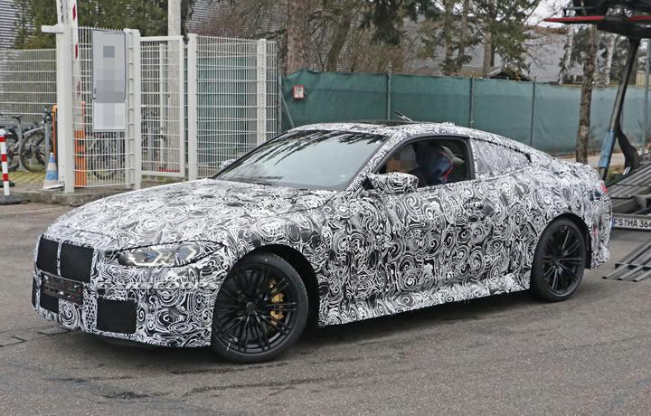 2021 Yeni Kasa BMW M4 Coupe Manuel