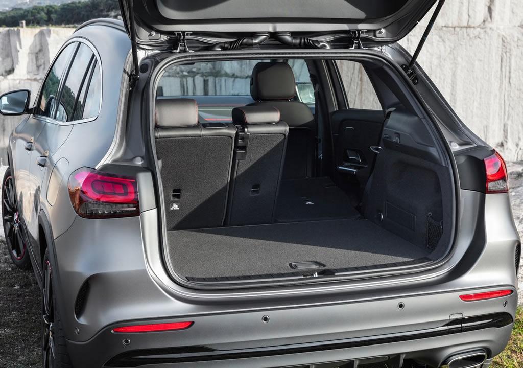 Yeni Mercedes-Benz GLA MK2 Bagaj Alanı