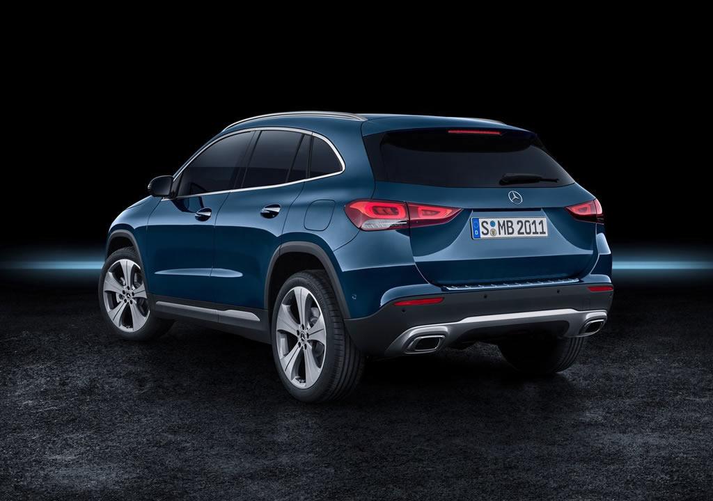 2021 Yeni Kasa Mercedes-Benz GLA Arkası