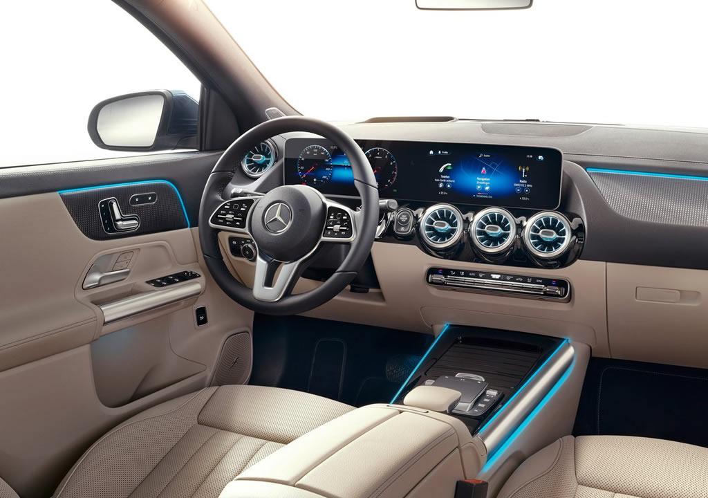 2021 Yeni Kasa Mercedes-Benz GLA Kokpiti