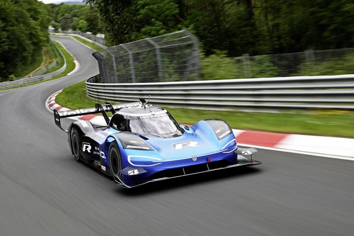 Yılın Elektrikli Yarış Otomobili