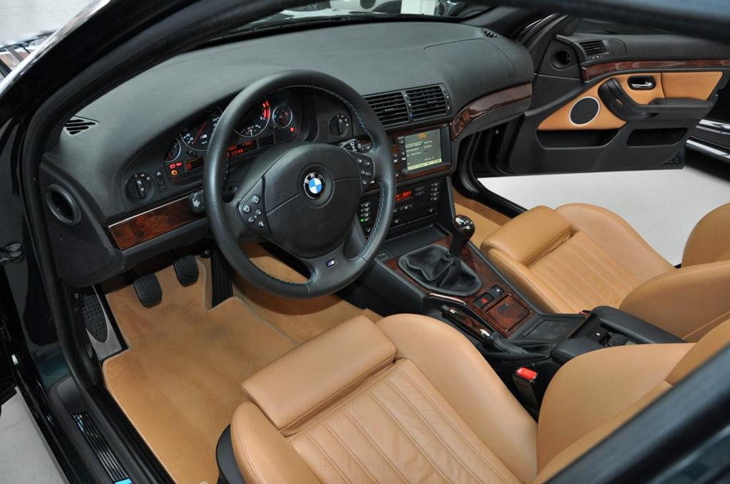 1999 BMW M5 E39 Kokpiti
