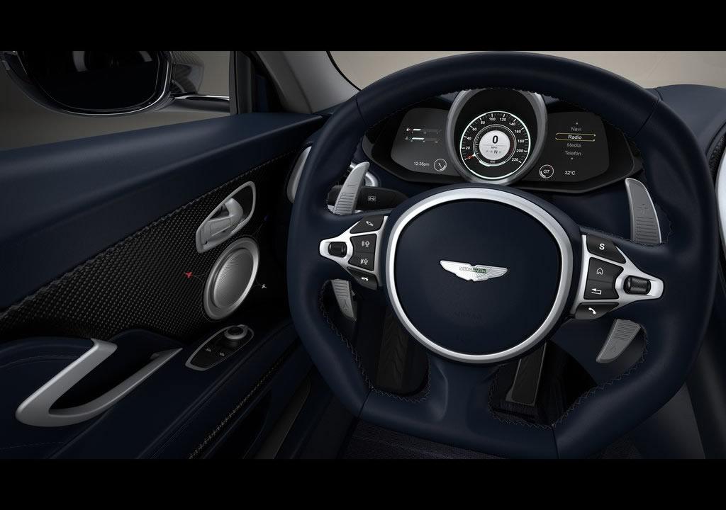 2020 Yeni Aston Martin DBS Superleggera Concorde Edition Kokpiti